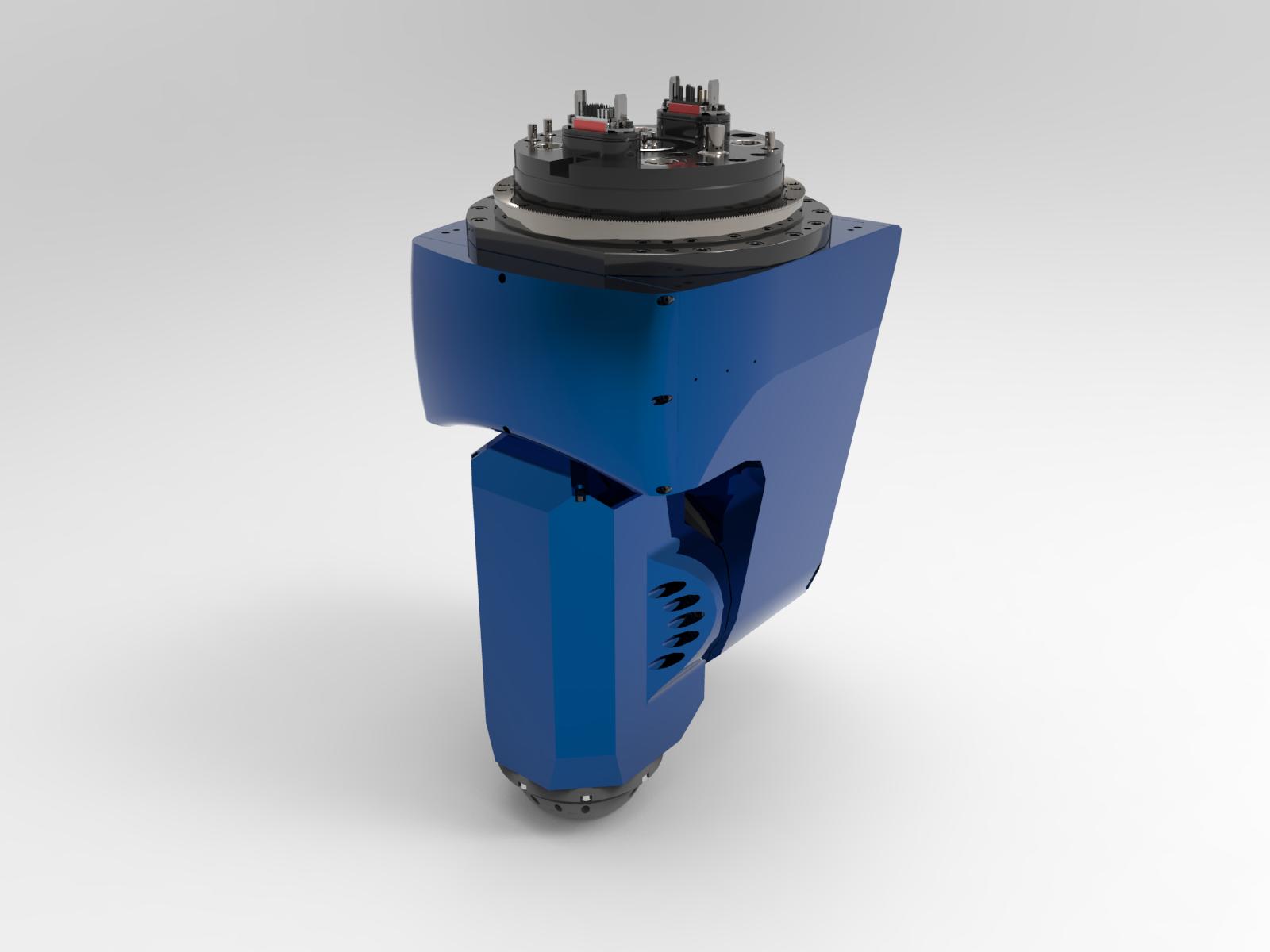 HEAD 1AX - OH - ELM 25kW-14000 rpm - Cod.19022A020